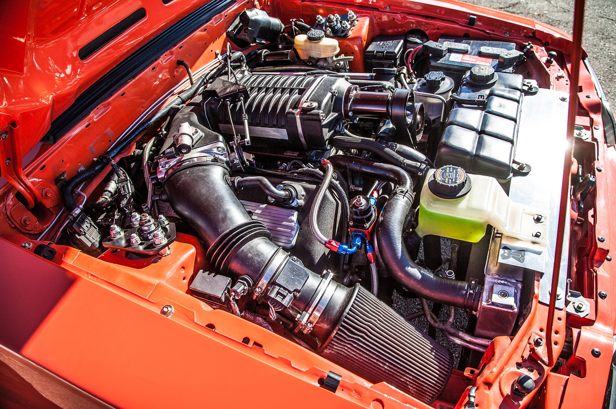 What Engine Is In The Terminator Cobra