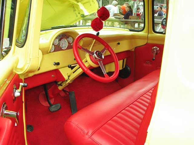 2008 Silver Springs All Ford Roundup 1956 Ford F100 Interior