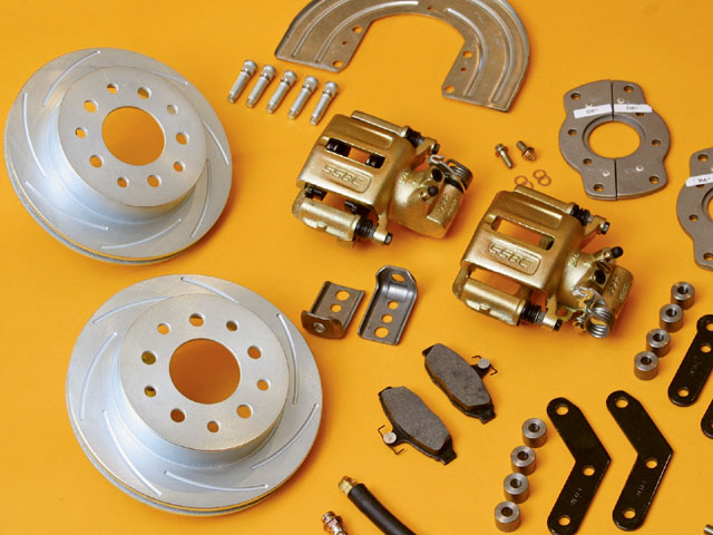 Ford Mustang Engine Build Brake Upgrade Kit