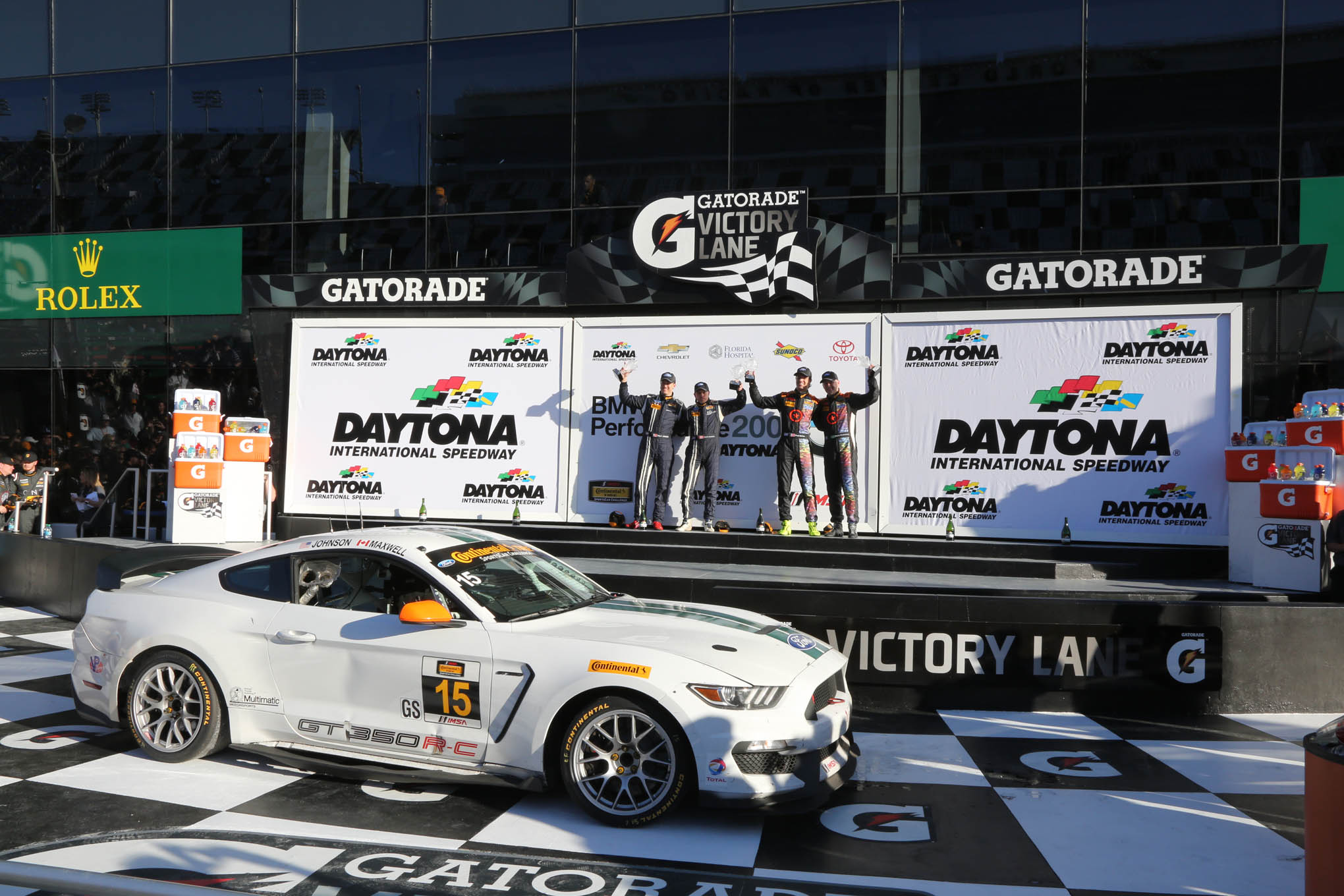 157 Ford Mustang GT350Rc 2016 Rolex Daytona 24