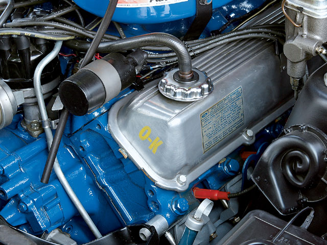 1971 Ford Torino Engine View