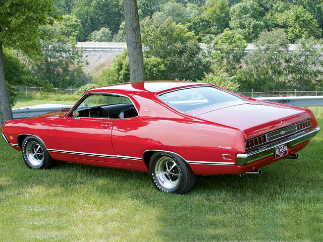 1971 Ford Torino Rear Drivers Side View