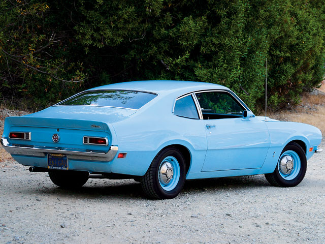 1972 Ford Maverick Rear