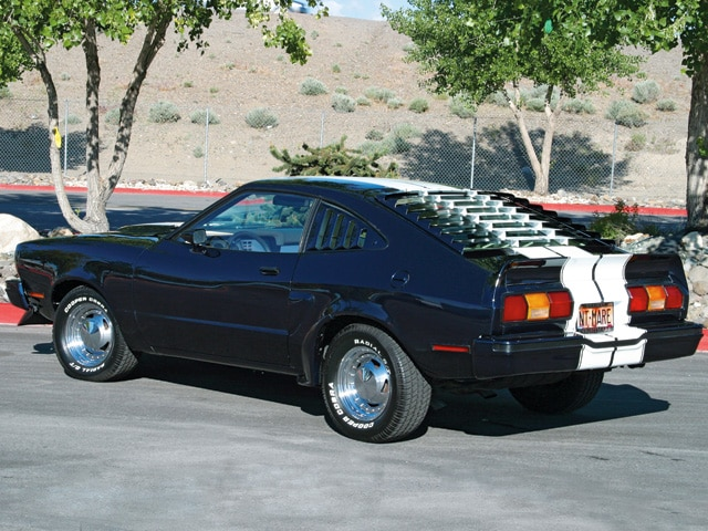 1976 Ford Mustang Rear View