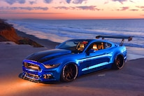 2015 Ford Mustang Blue Chrome Soto 46