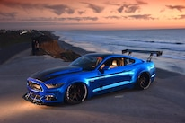 2015 Ford Mustang Blue Chrome Soto 45