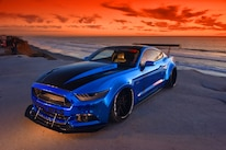 2015 Ford Mustang Blue Chrome Soto 43