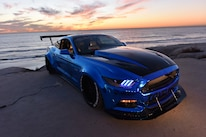 2015 Ford Mustang Blue Chrome Soto 41