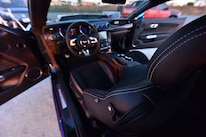 2015 Ford Mustang Blue Chrome Soto 35 Interior