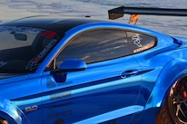 2015 Ford Mustang Blue Chrome Soto 28