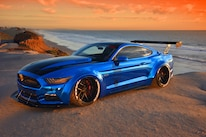 2015 Ford Mustang Blue Chrome Soto 24