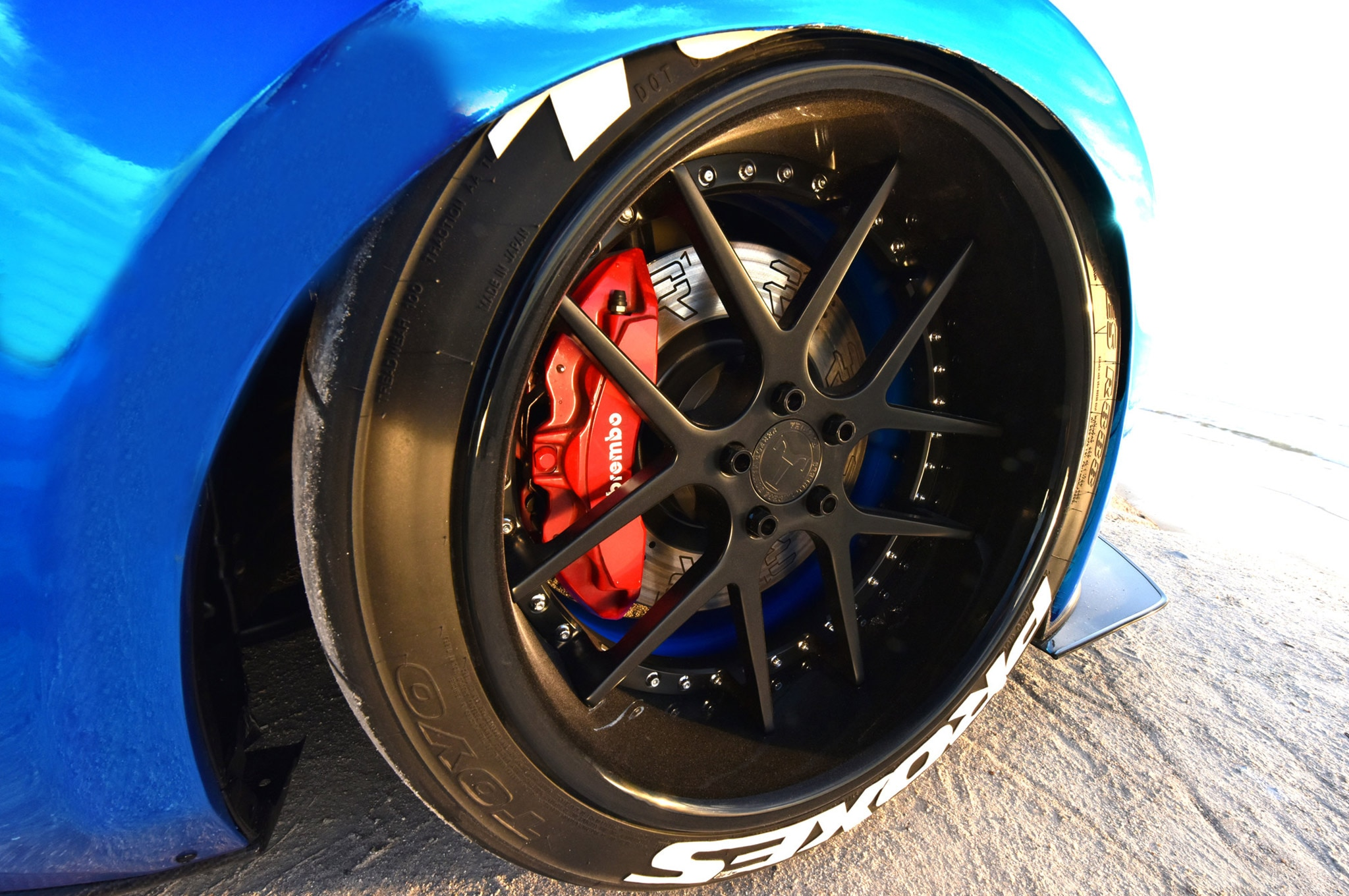 2015 Ford Mustang Blue Chrome Soto 13