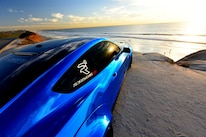 2015 Ford Mustang Blue Chrome Soto 11