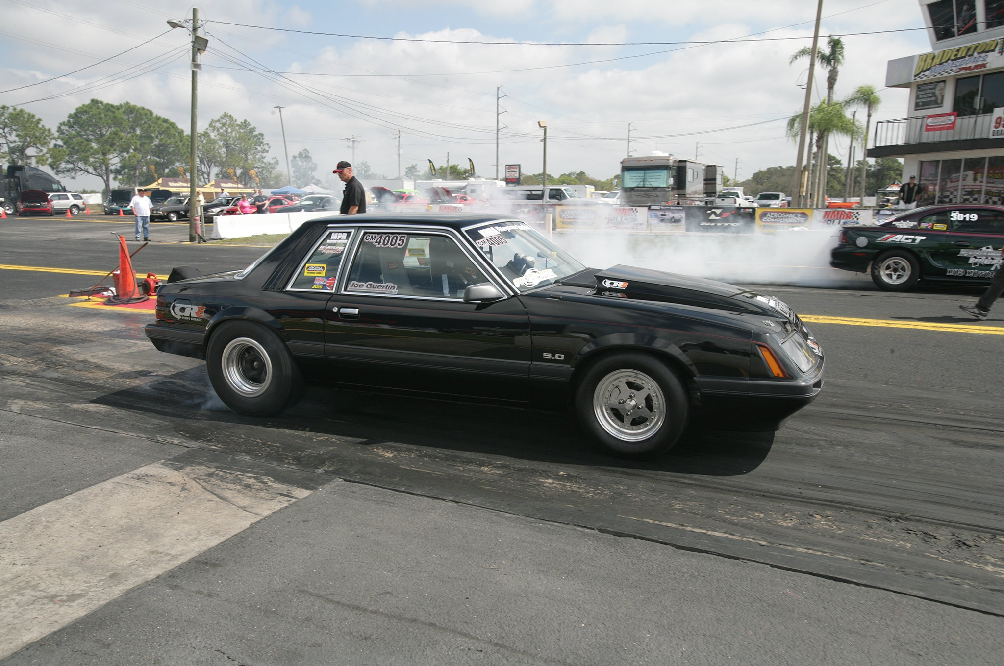2015 Nmra Mustangs Burnout Black Side