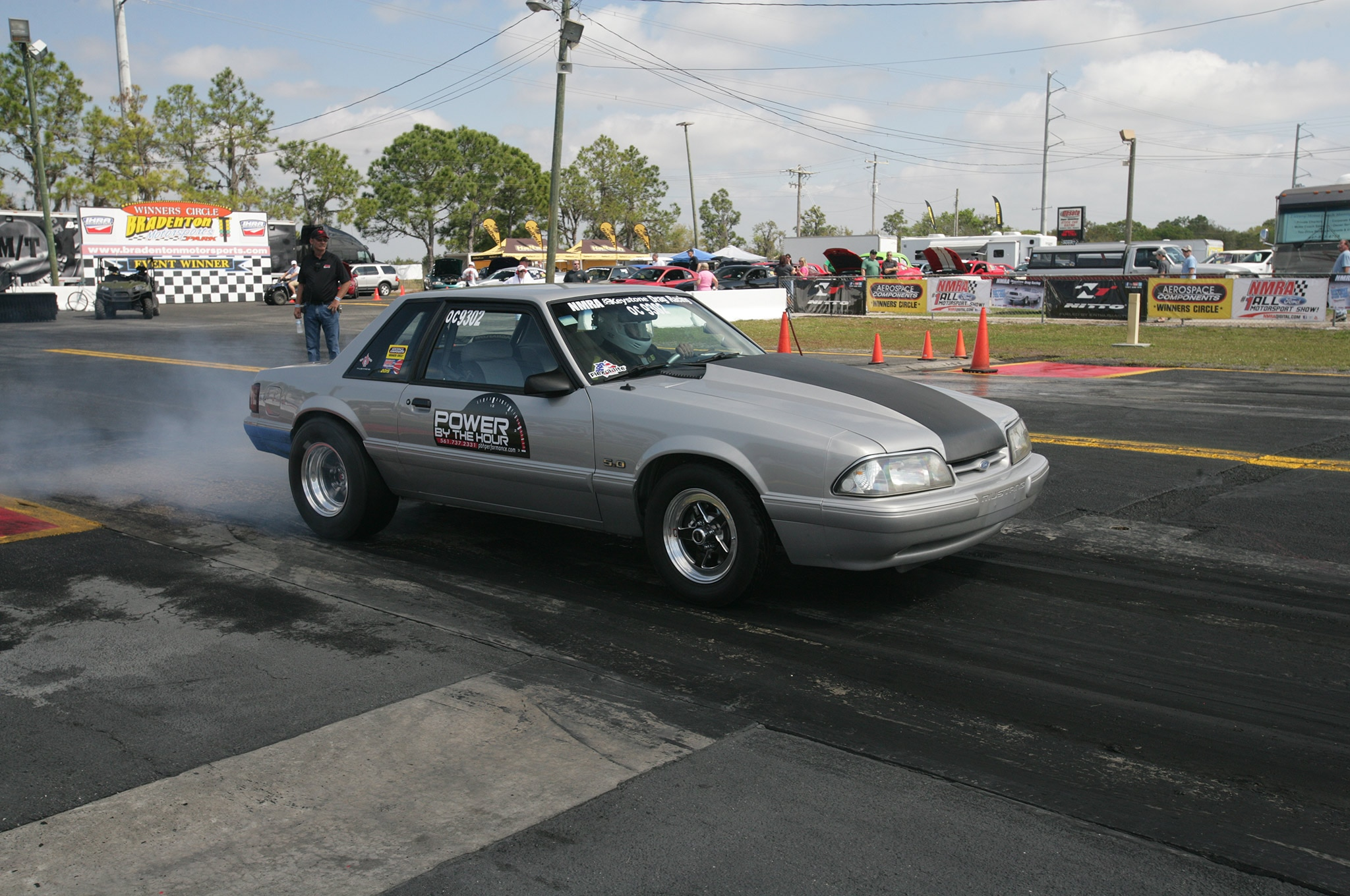 2015 Nmra Mustangs Burnout Black Silver