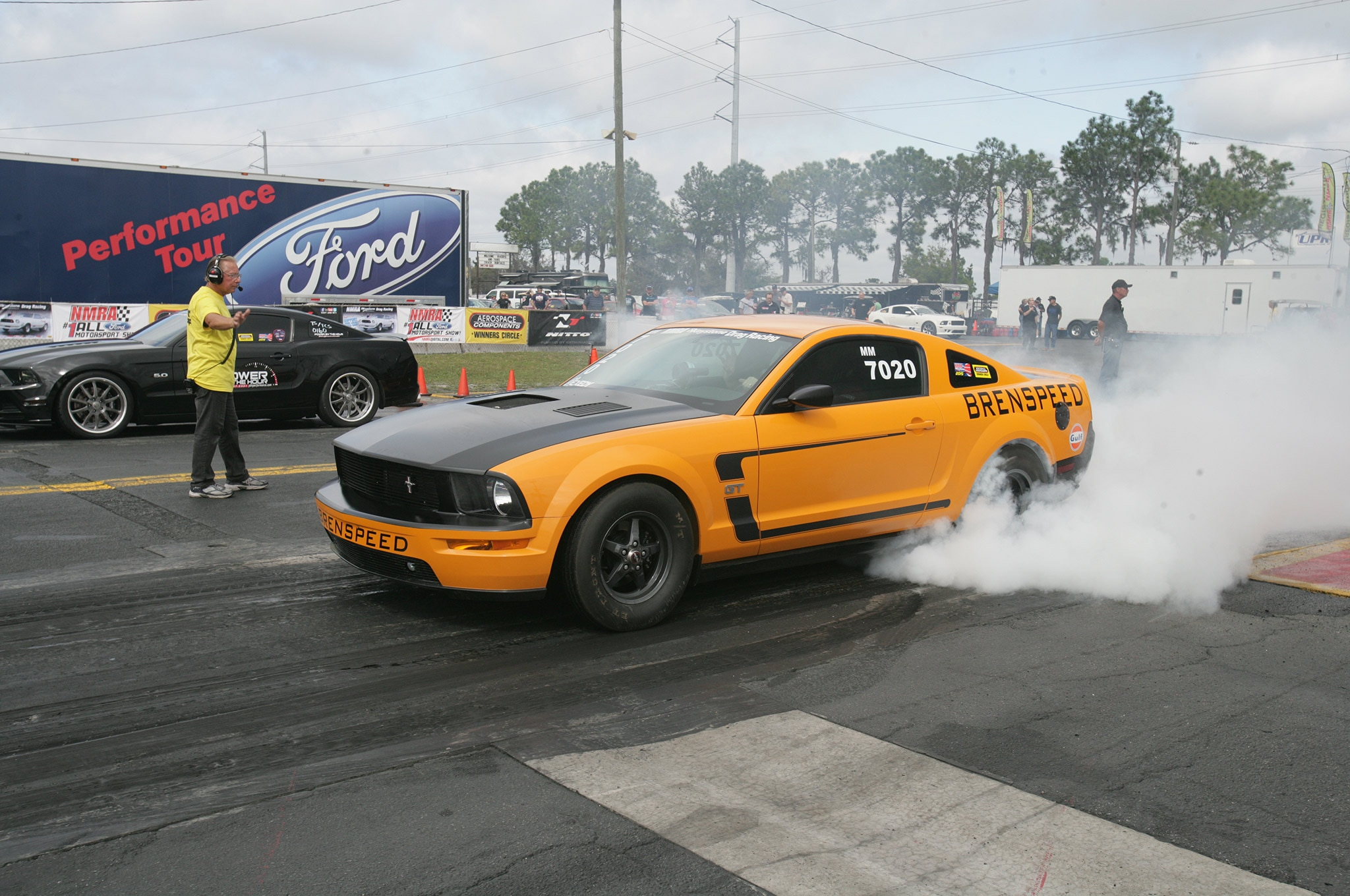2015 Nmra Mustangs Burnout Brenspeed