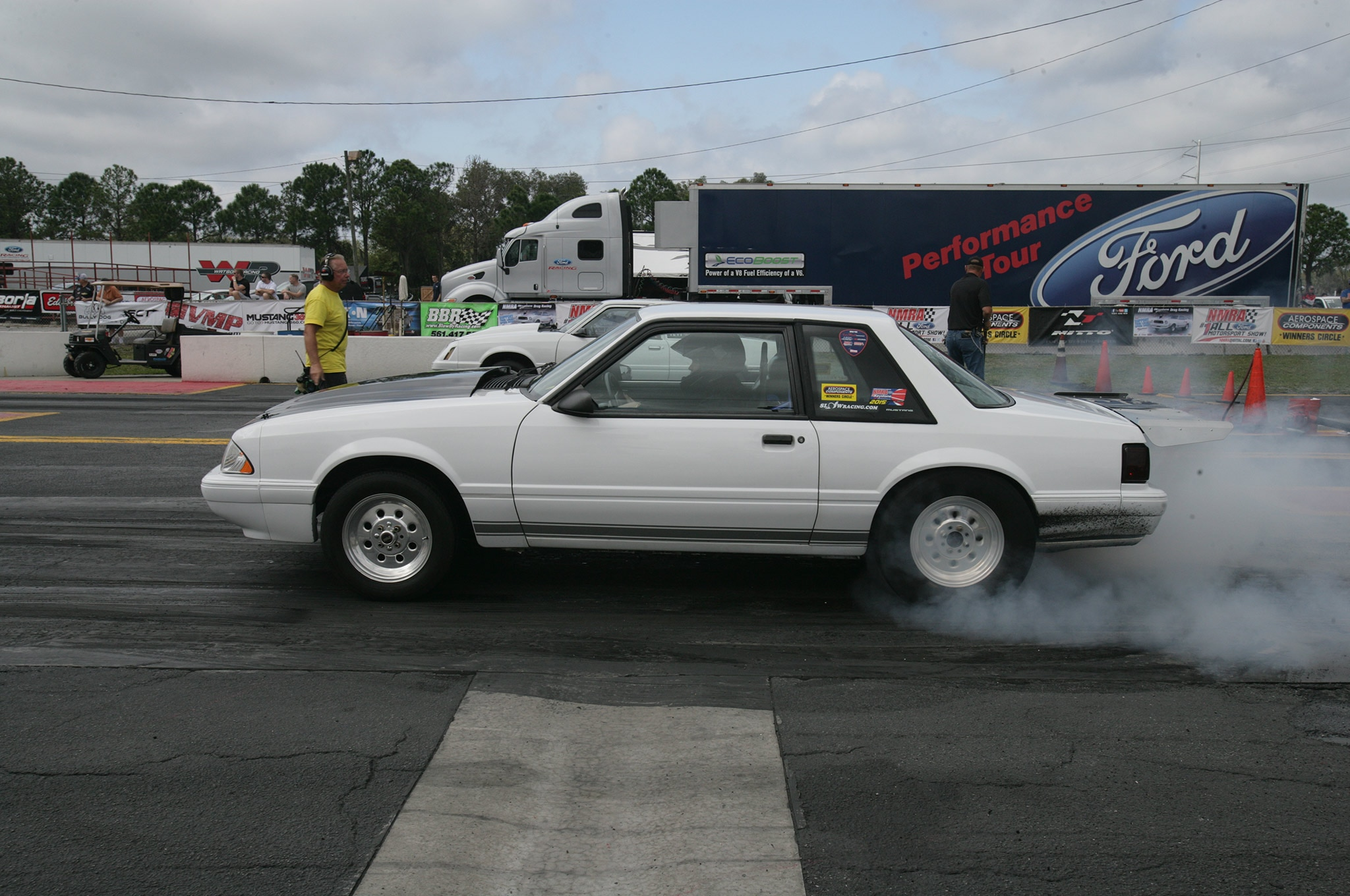 2015 Nmra Mustangs Burnout Fox Body
