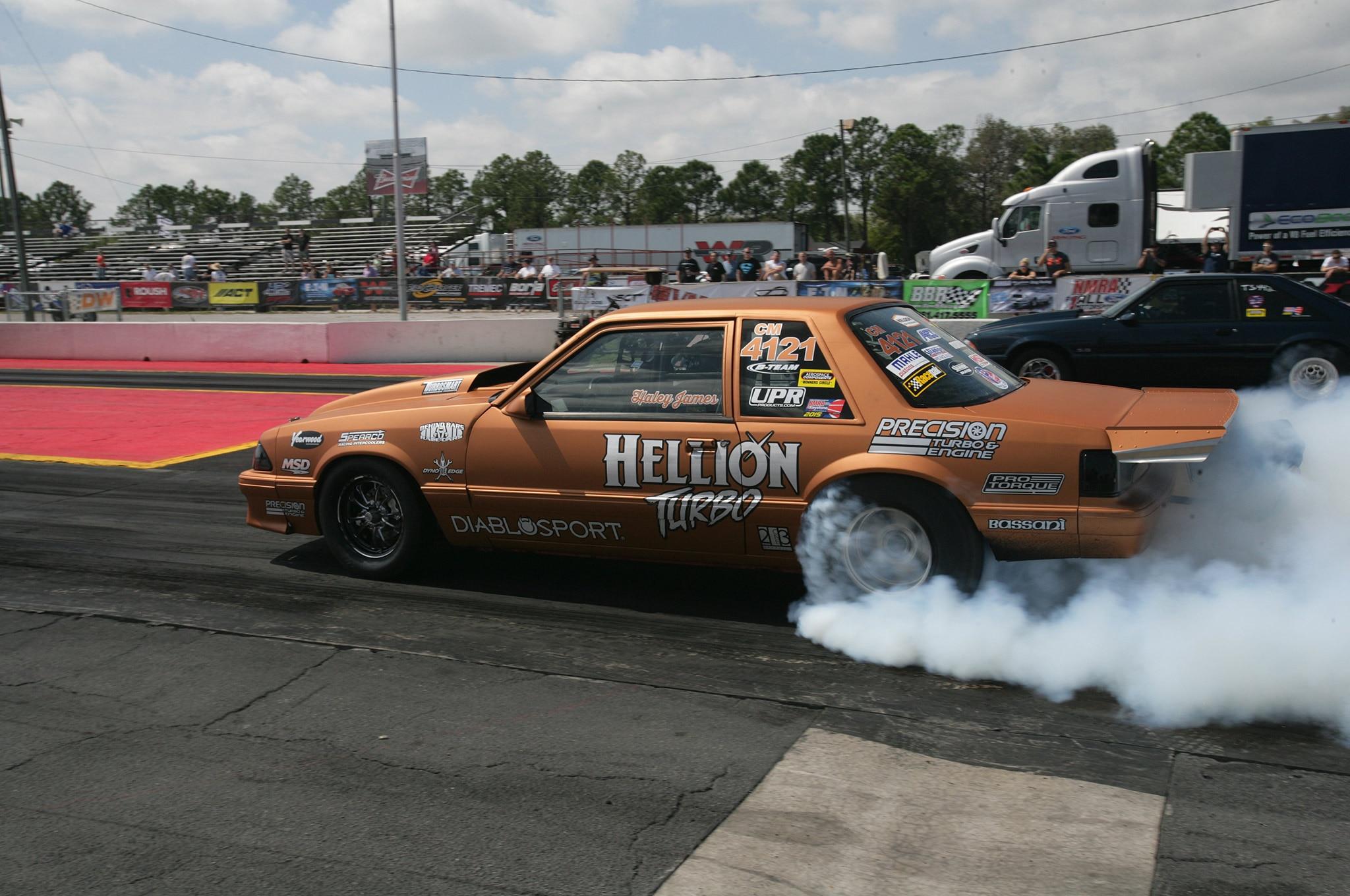 2015 Nmra Mustangs Burnout Hellion