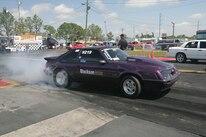 2015 Nmra Mustangs Burnout Purple Side