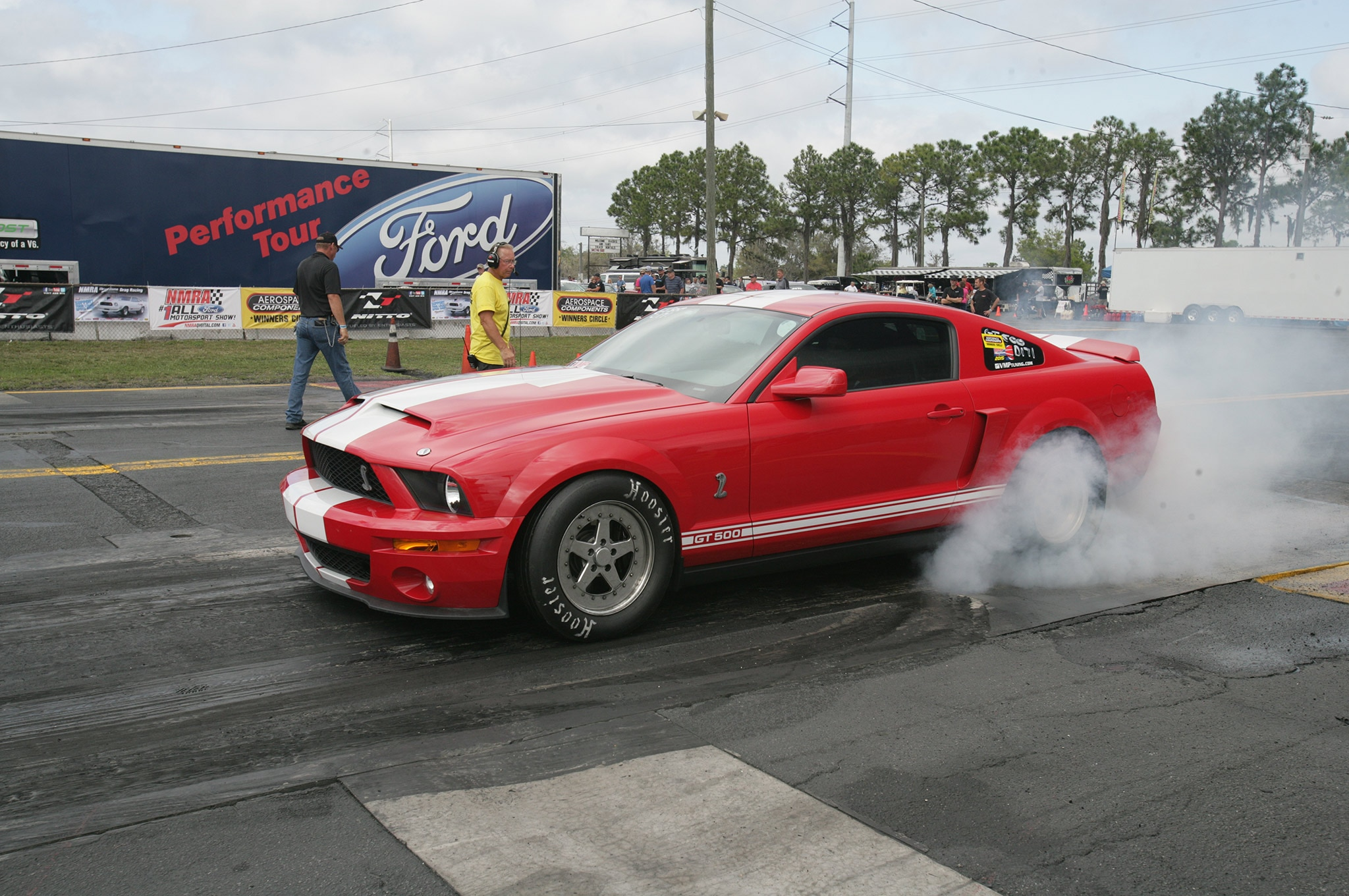 2015 Nmra Mustangs Burnout Red