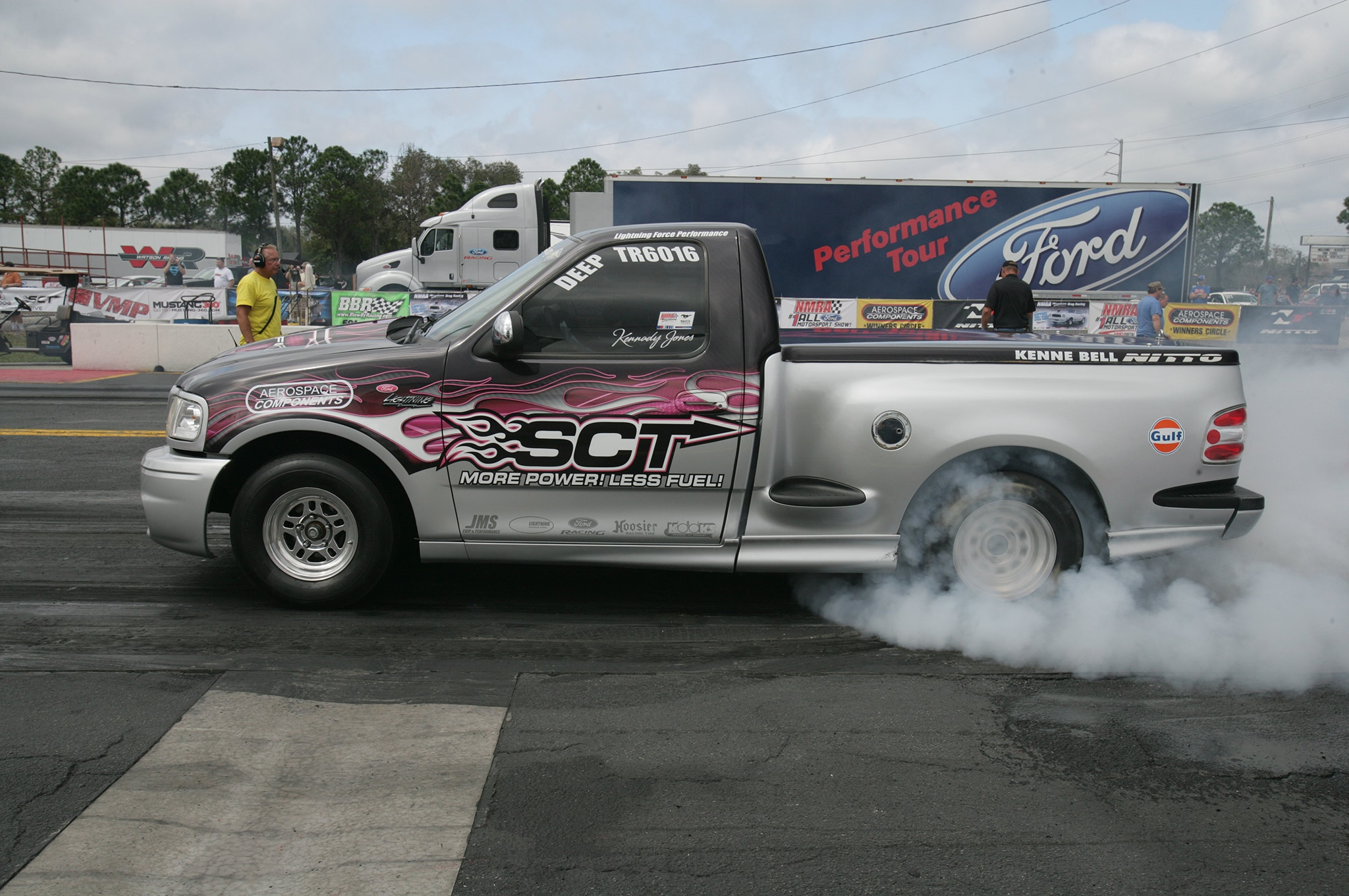 2015 Nmra Mustangs Burnout Sct Truck