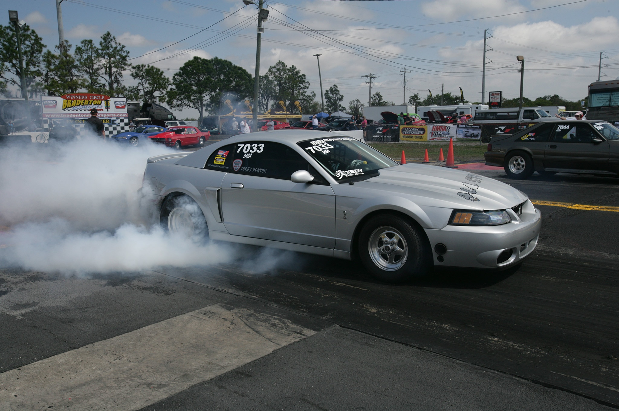 2015 Nmra Mustangs Burnout Silver