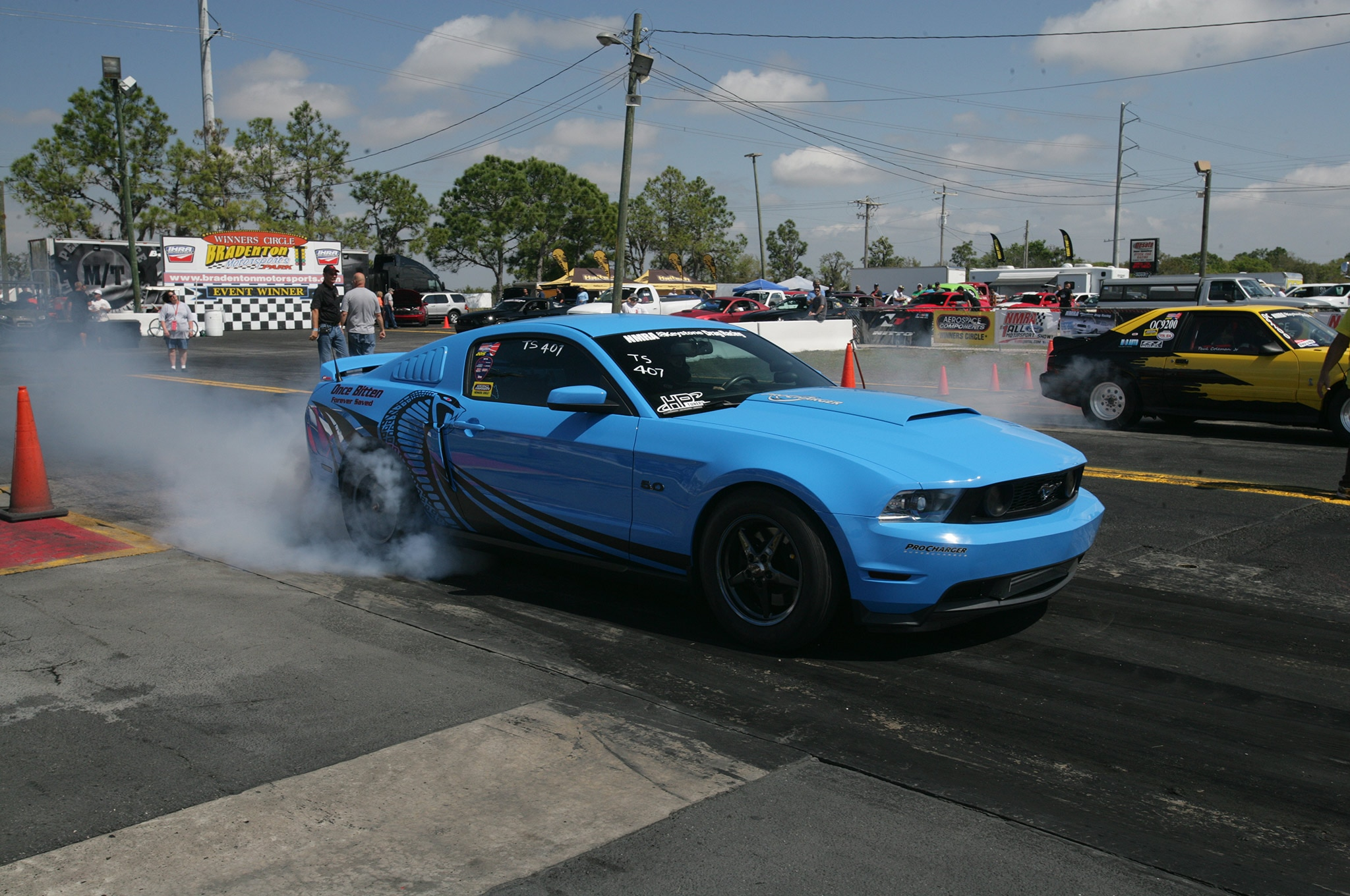2015 Nmra Mustangs Burnout Tires