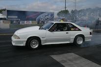 2015 Nmra Mustangs Burnout White Fox Body