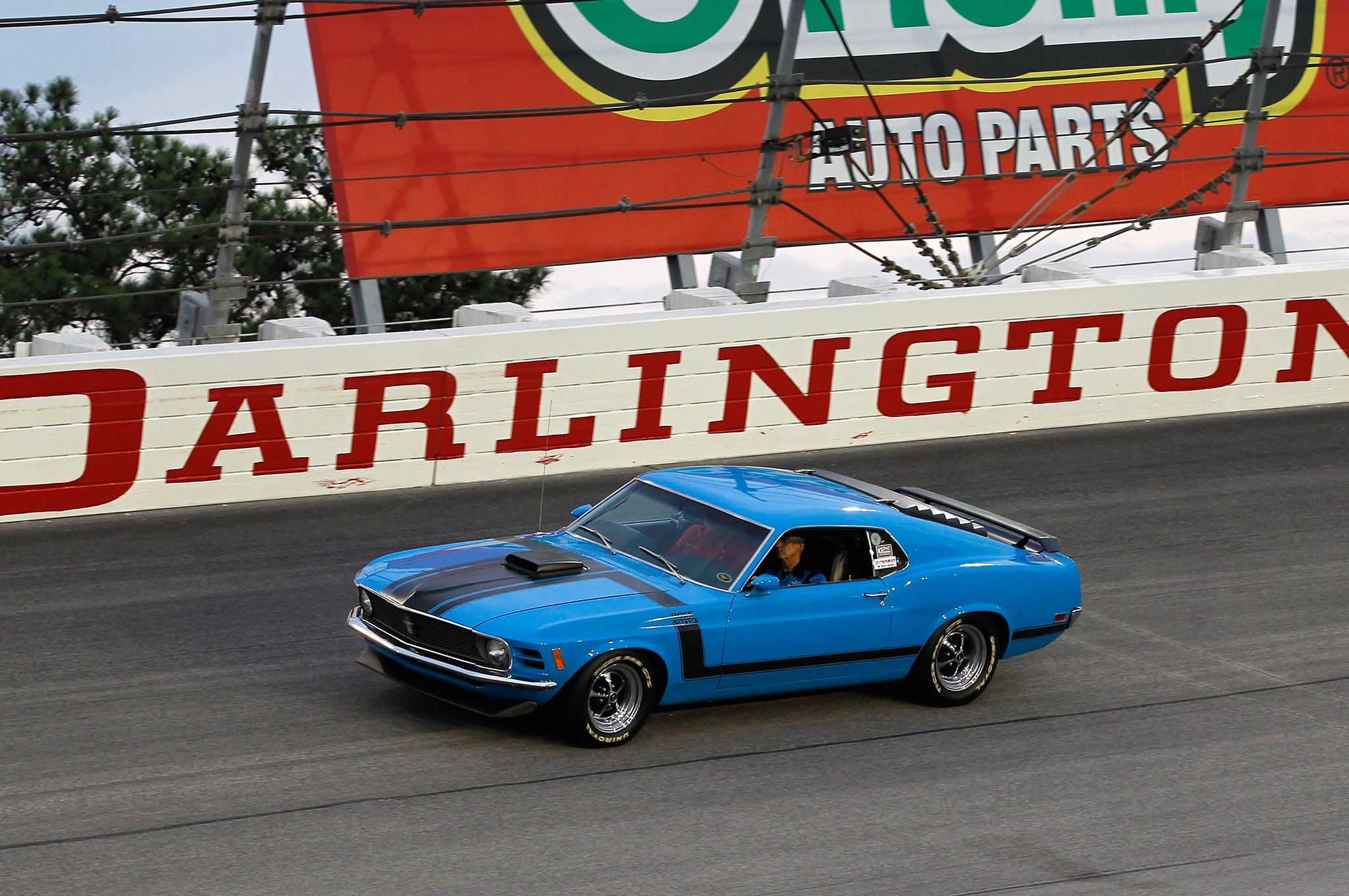 1b 1970 Ford Mustang Boss 302 Race Track