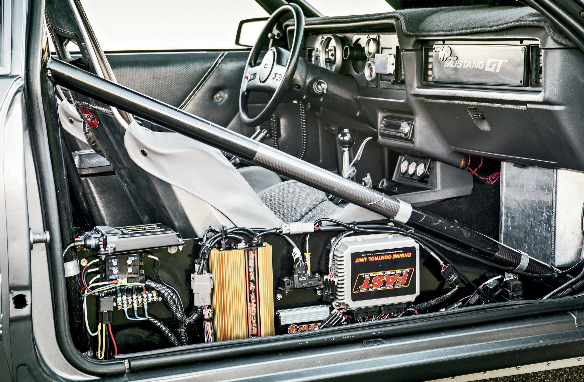1986 Ford Mustang Gt Rollcage Interior