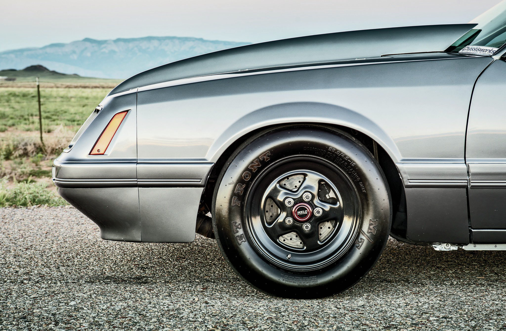 1986 Ford Mustang Gt Front Wheel