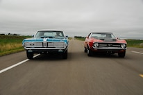 1969 Mercury Cougar And 1971 Ford Mustang Driving 2