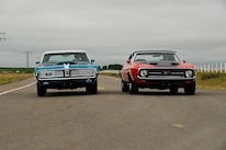 1969 Mercury Cougar And 1971 Ford Mustang Driving 4