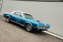 1969 Mercury Cougar Front Three Quarter