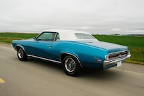 1969 Mercury Cougar Rear Three Quarter