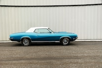 1969 Mercury Cougar Side