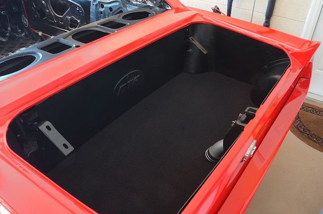 1967 1968 Ford Mustang Trunk Kit Install