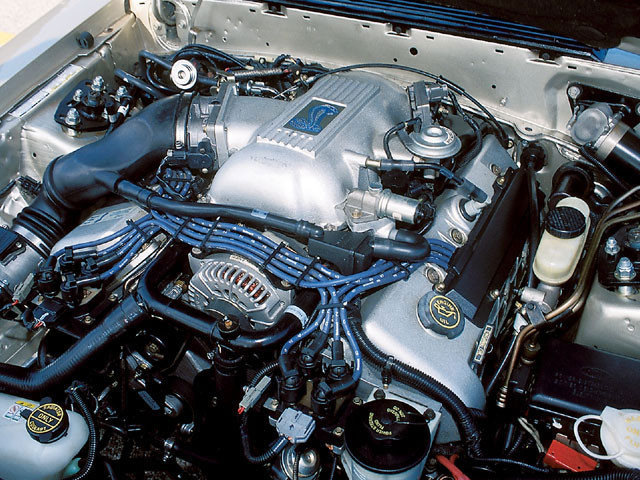 1994 Mustang Gt 1996 2001 Cobra Late Model Corral Photo Gallery Mump 0501 03 Z Engine View
