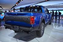 2017 Ford Raptor Crew Cab Rear Three Quarter