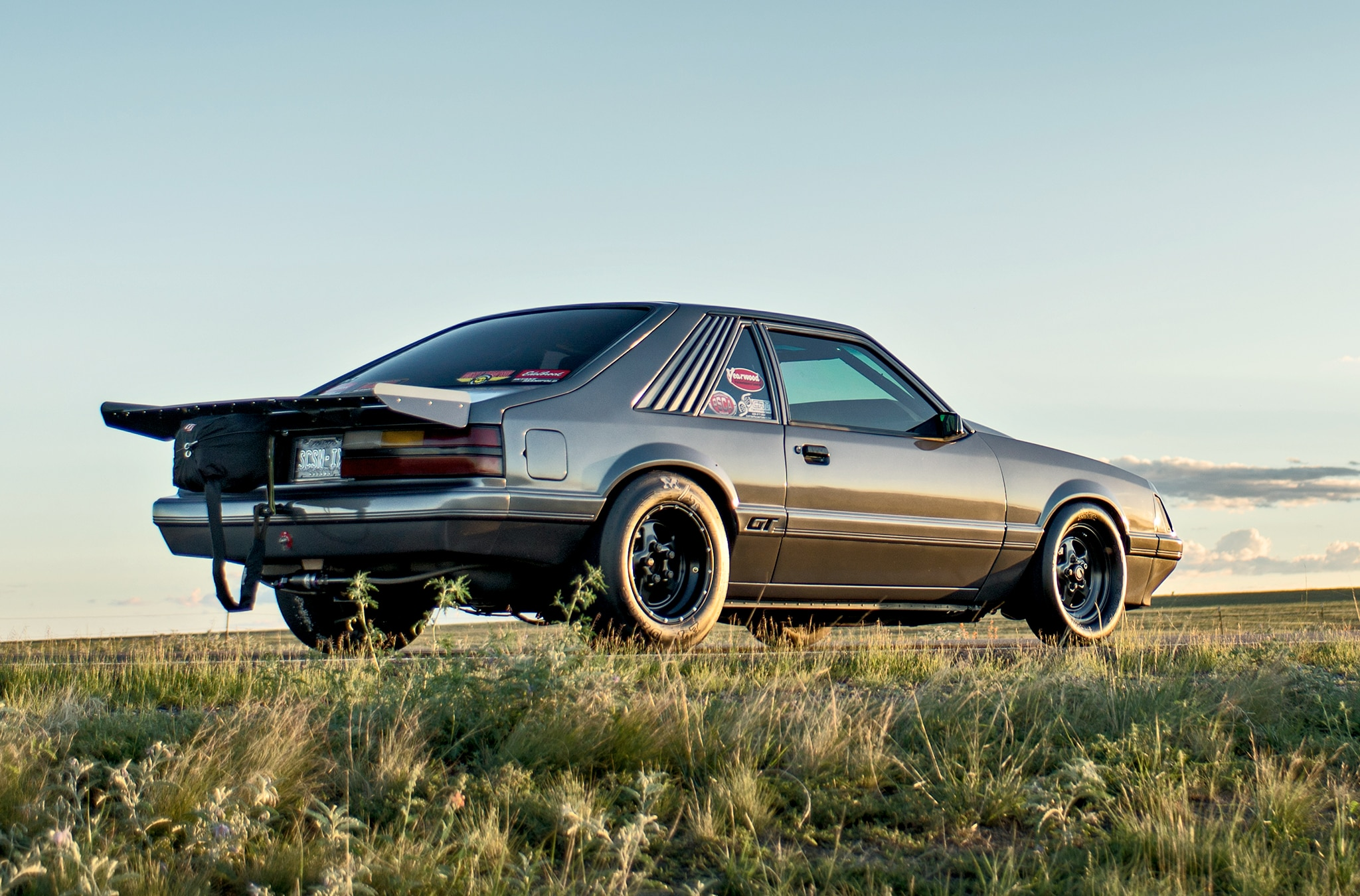1986 Ford Mustang Gt Rear Quarter