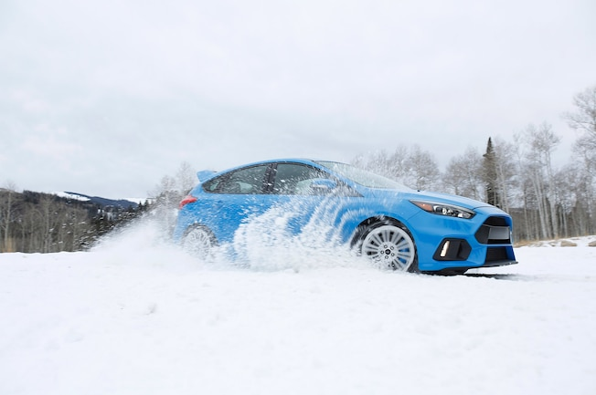 Winter Tire Package Ford Focus Rs 01