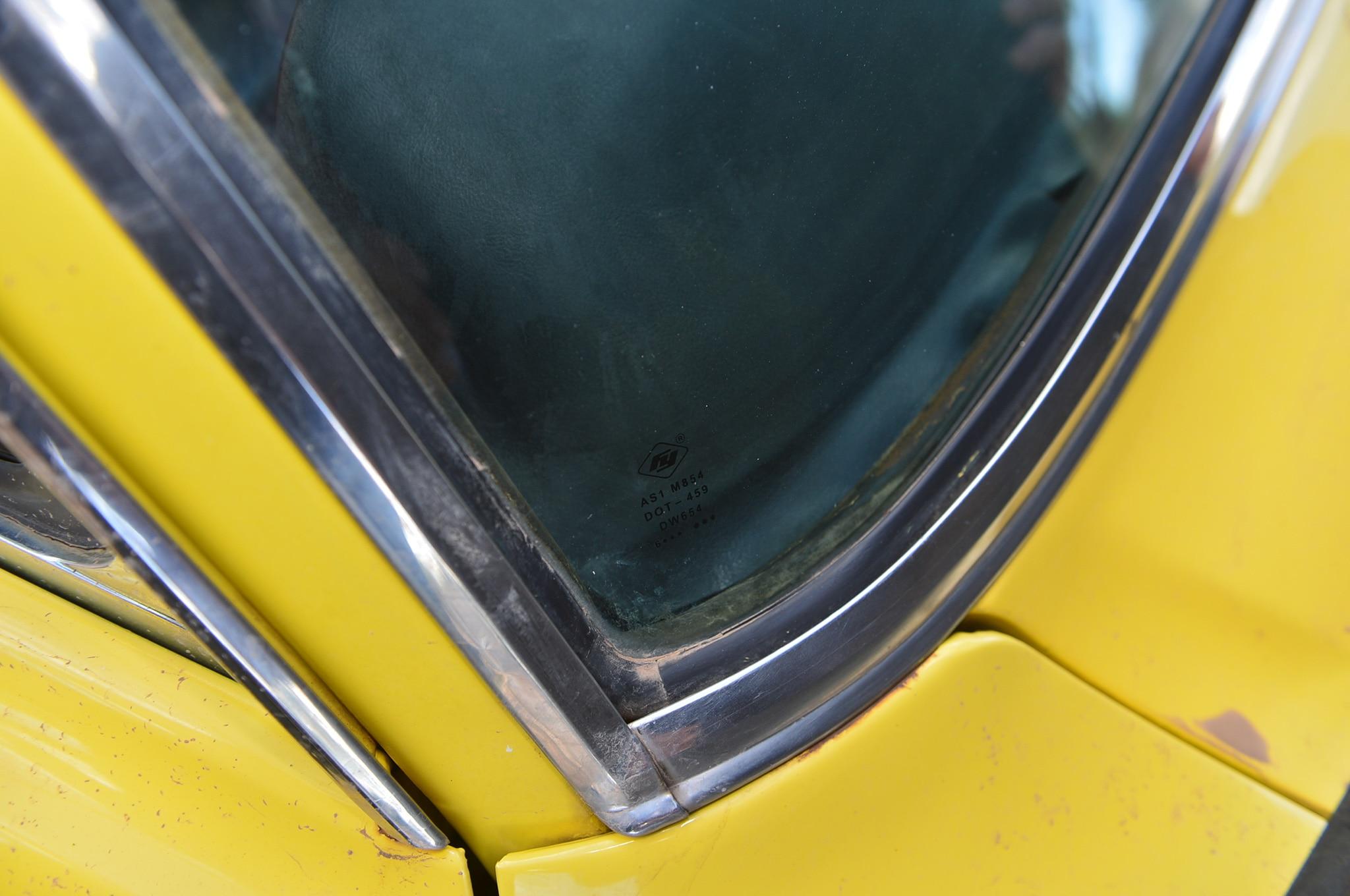 1 1968 Ford Mustang Black Vinyl