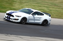 Shelby GT350R Mustang At Grattan Raceway Side In Motion 03