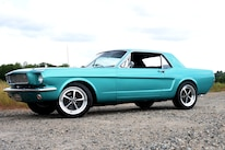 2 1965 Ford Mustang Side View