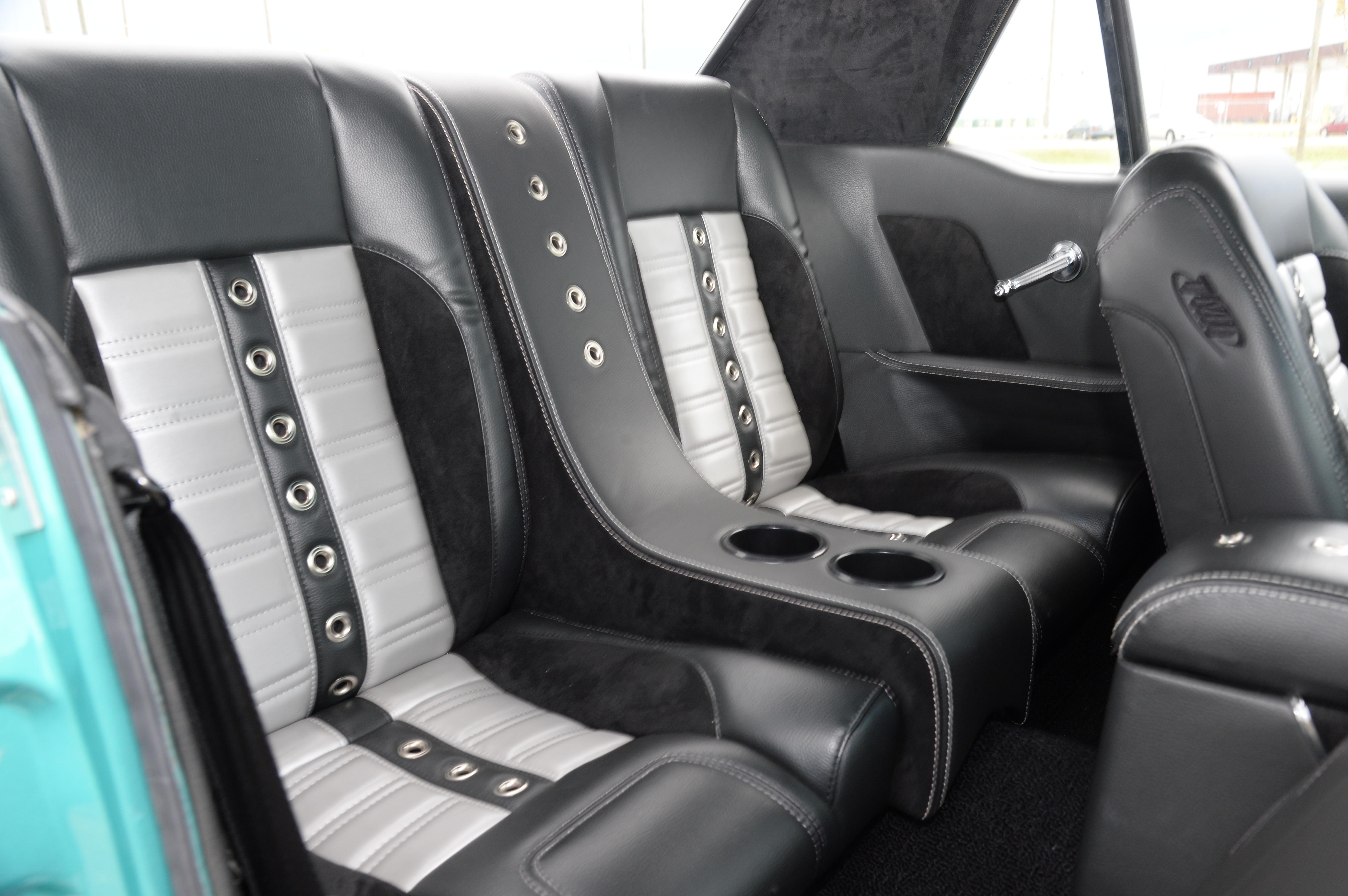 5 1965 Ford Mustang Backseat