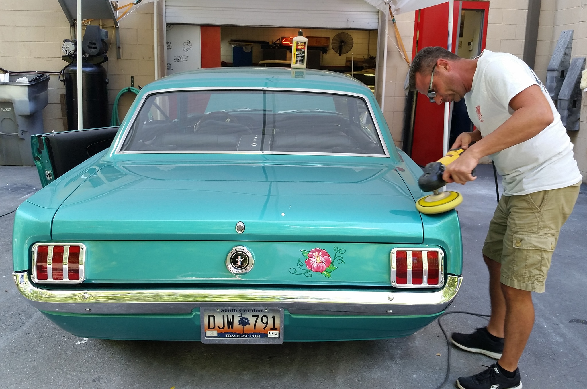11 1965 Ford Mustang Calypso Green