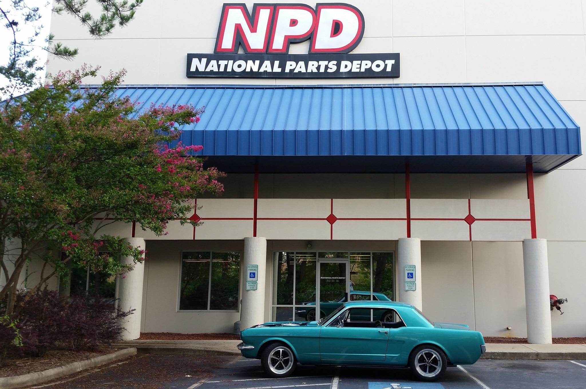 14 1965 Ford Mustang National Parts Depot