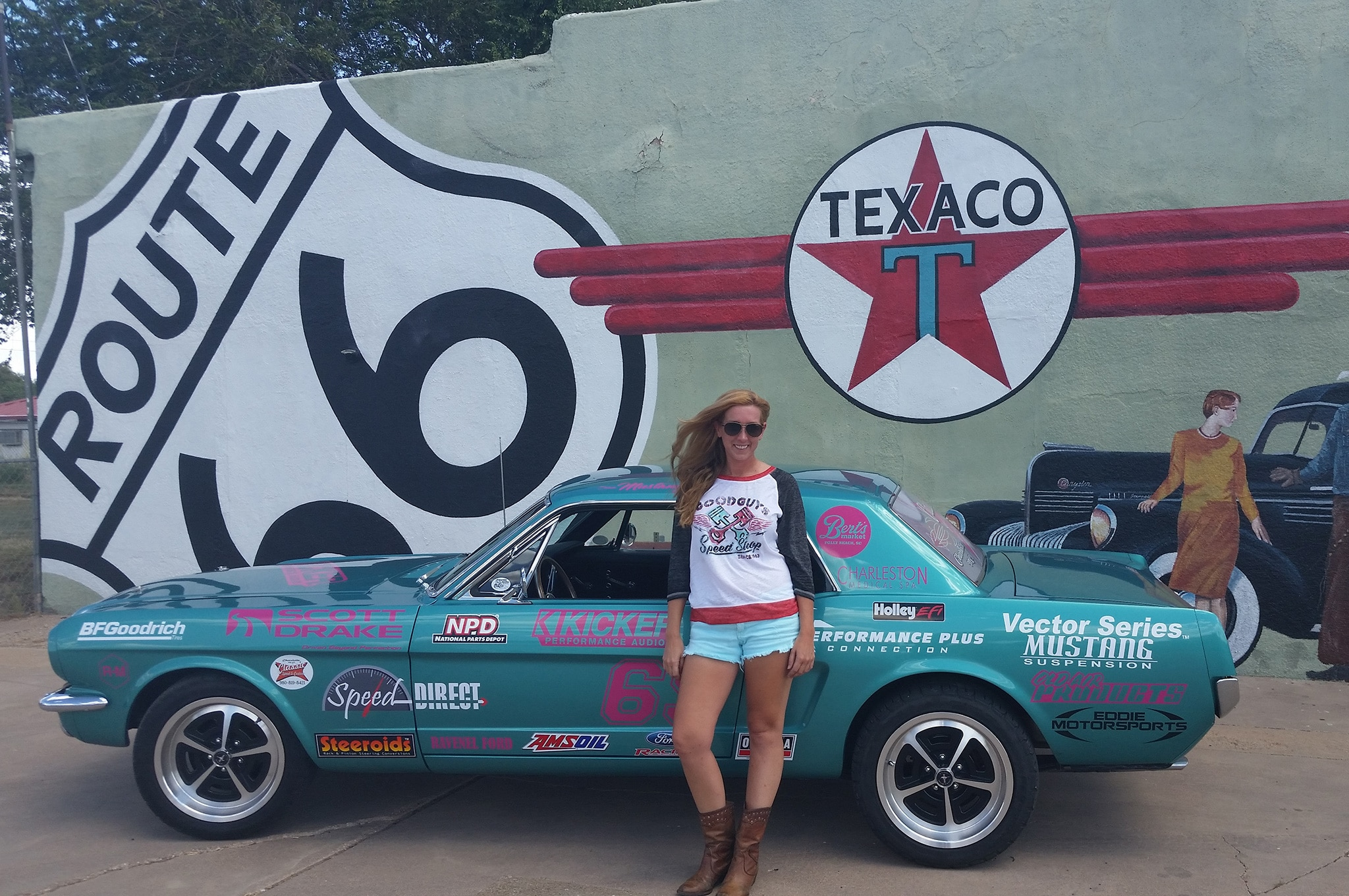 24 1965 Ford Mustang Route 66