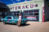 28 1965 Ford Mustang Texaco