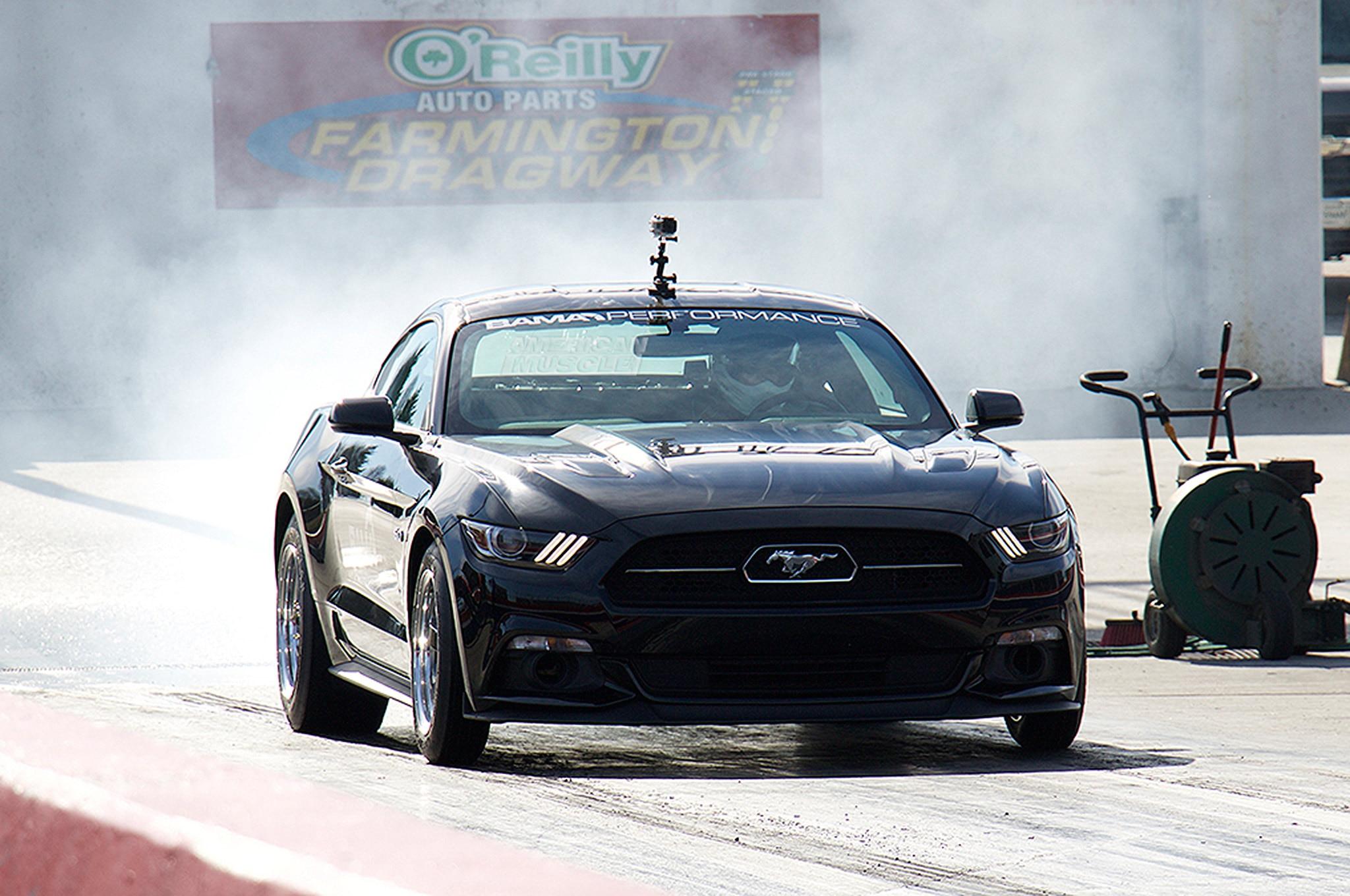 Bama Performance Supercharger Mustang Gt Burnout